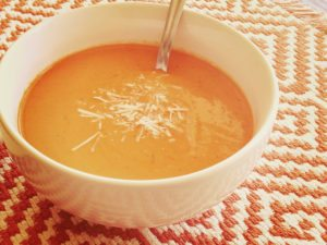 Beat Everyone at the Fair With This Mouthwatering Tomato Basil Soup