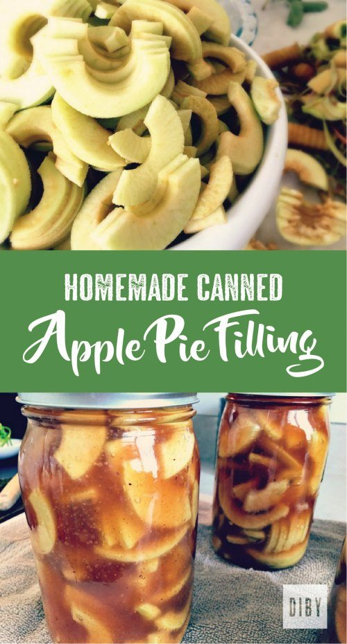 Delicious Homemade Canned Apple Pie Filling Recipe