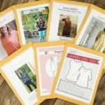 How to Tape, Cut and Organize Your PDF Sewing Patterns