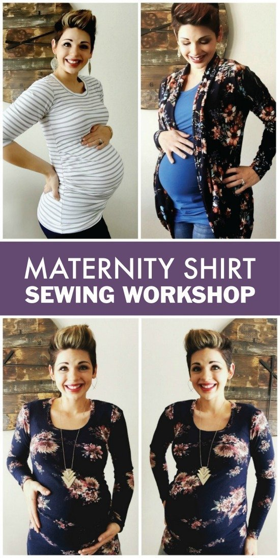 Sew Your Own Maternity Shirts!
