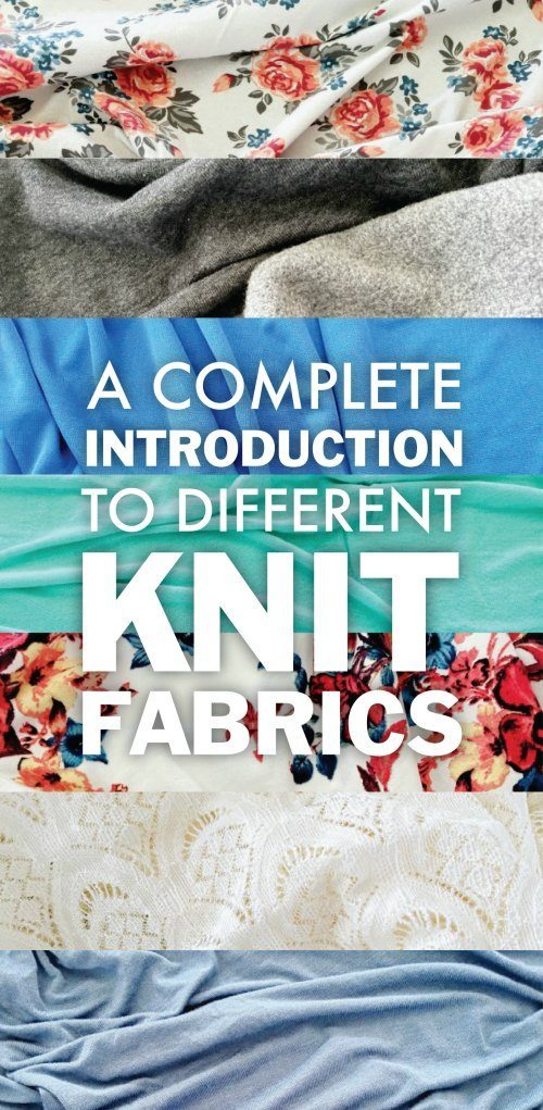 Learn All About the Different Knit Fabrics Out There and Where To Get Them