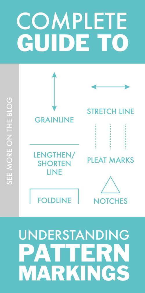 Check Out This Complete Guide to Pattern Markings for Sewing Knit Apparel
