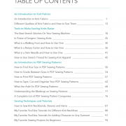 Table of Contents SS