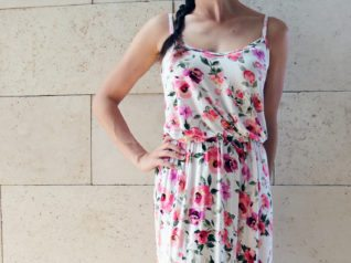 Make Your Own Summer Time Spaghetti Strap Dress by Mashing Up These Two Patterns!