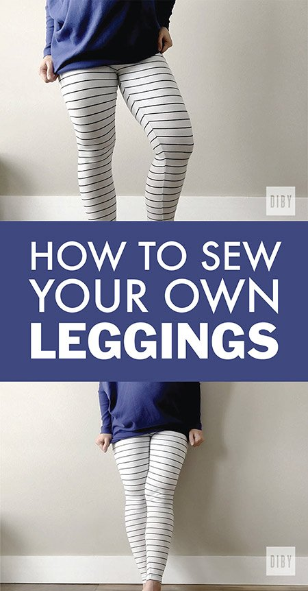 Learn to Sew Your Own Leggings with This Free Pattern!