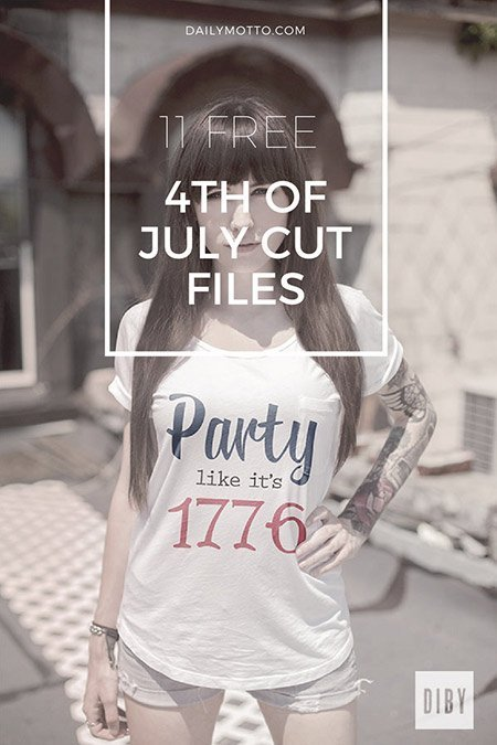 Download These 11 Free Fourth of July Cut Files!