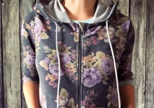 How to Sew a Hoodie with The Babe Pattern