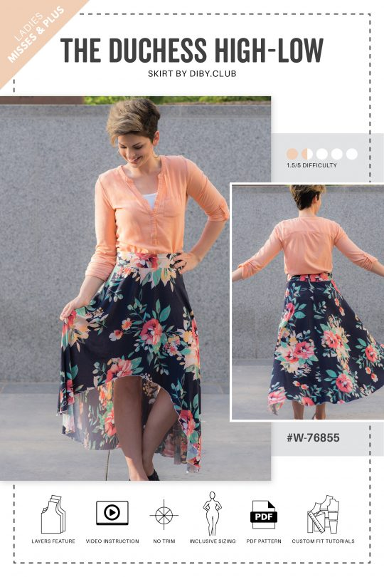 Free Printable Plus Size Sewing Patterns The DIBY Club Stunning Free Printable Plus Size Sewing Patterns