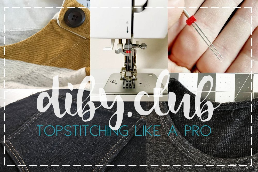 topstitching how to