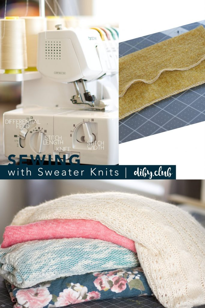sewing with sweater knits serging coverstitch sewing