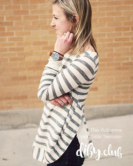The Adrianne Womens Slouchy Sweater Pdf Sewing Pattern Misses