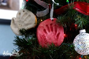 DIY Moulded Handprint Ornaments That Will Keep Your Memories For Years To Come