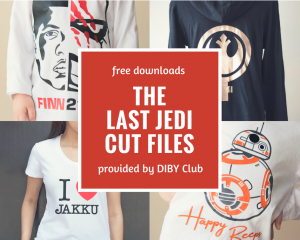 The Last Jedi Cut Files and Printables | SVG, PNG and PDF