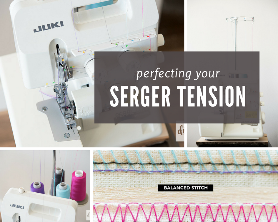 Serger Tension Made Easy The Diby Club