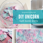 This Unicorn Bath Bomb Brittle is the Easiest Bath Bomb You've Ever Made
