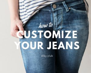How to Customize Your Jeans