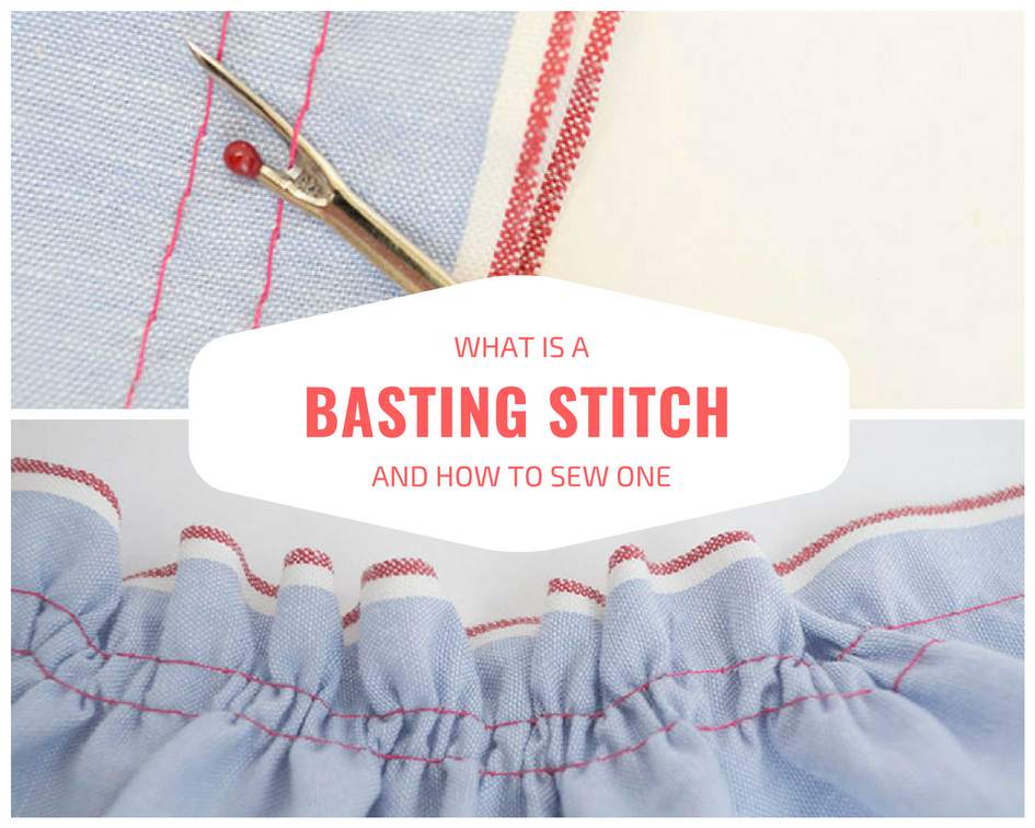 what is a basting stitch and how to sew one the diby club. Black Bedroom Furniture Sets. Home Design Ideas