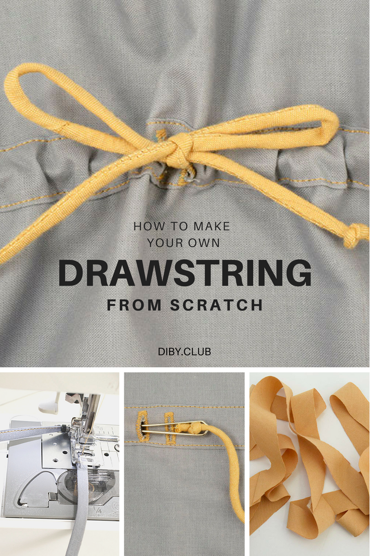 how to make a drawstring