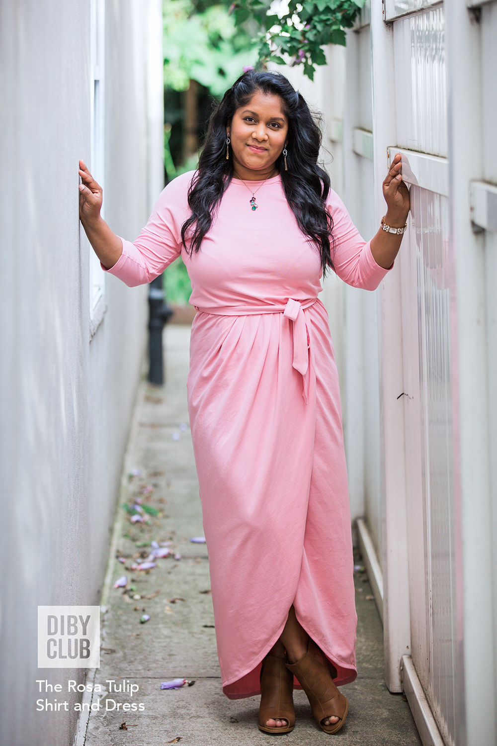 The Rosa Tulip Dress And Top Pdf Sewing Pattern Diby Club