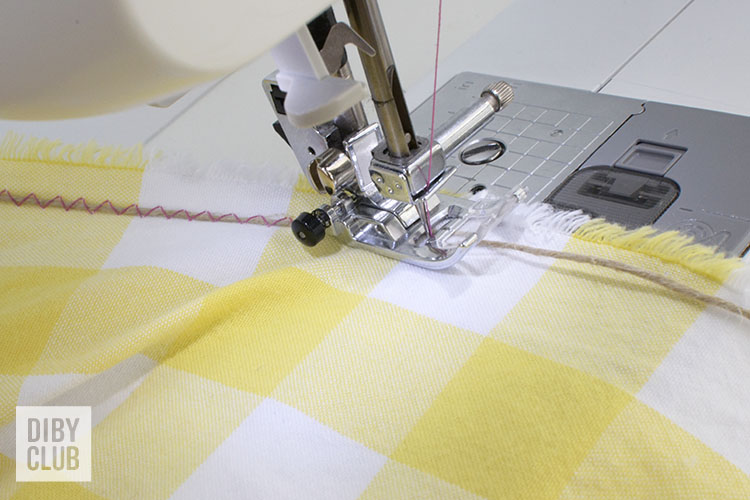 how to gather fabric