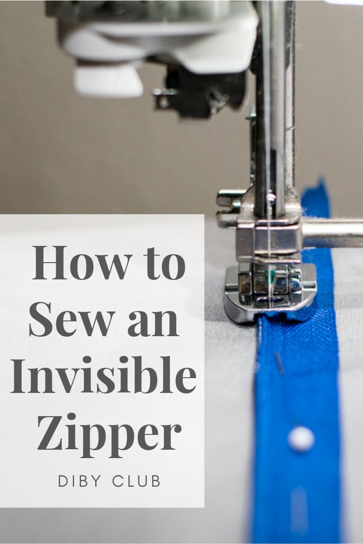 Invisible zippers can be scary but they dont have to be. In fact they are quite easy to sew. Let me show you how to sew an invisible zipper.