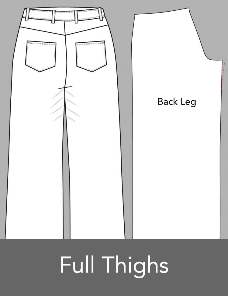 Basic Pants Alterations