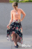The-Duchess-High-Low-Skirt-PDF-Sewing-Pattern-Floral-Holding-Train
