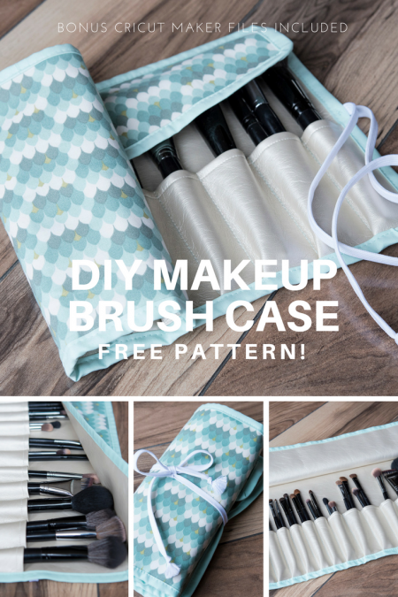 DIY Makeup Brush Case Pin