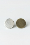 Silver and Brass Tack Buttons