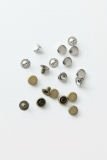 Silver and Brass Rivets