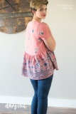 Pink-Ruffle-Claiborne-Top-Sewing-Pattern-Back