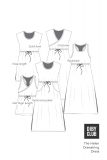The-Helen-Drawstring-Dress-Options-Line-Art-Examples