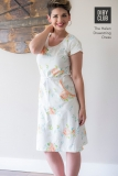 The-Helen-Drawstring-Dress-Floral-Arm-Up