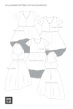 Sojourner Pattern Options Line Art
