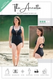 The Annette One Piece Swimsuit Pattern Listing Photo