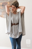 The-Mae-Poncho-Womens-Sewing-Pattern-Stripes-Jessica-Arms-Up
