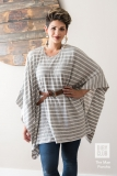 The-Mae-Poncho-Womens-Sewing-Pattern-Stripes-Jessica-One-Elbow-Up