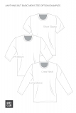 The ABB Mens Tee Sewing Pattern Options Example
