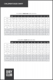 DIBY Childrens Size Chart for Web