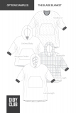 The Blaise Childrens Wearable Blanket Sewing Pattern Options Examples